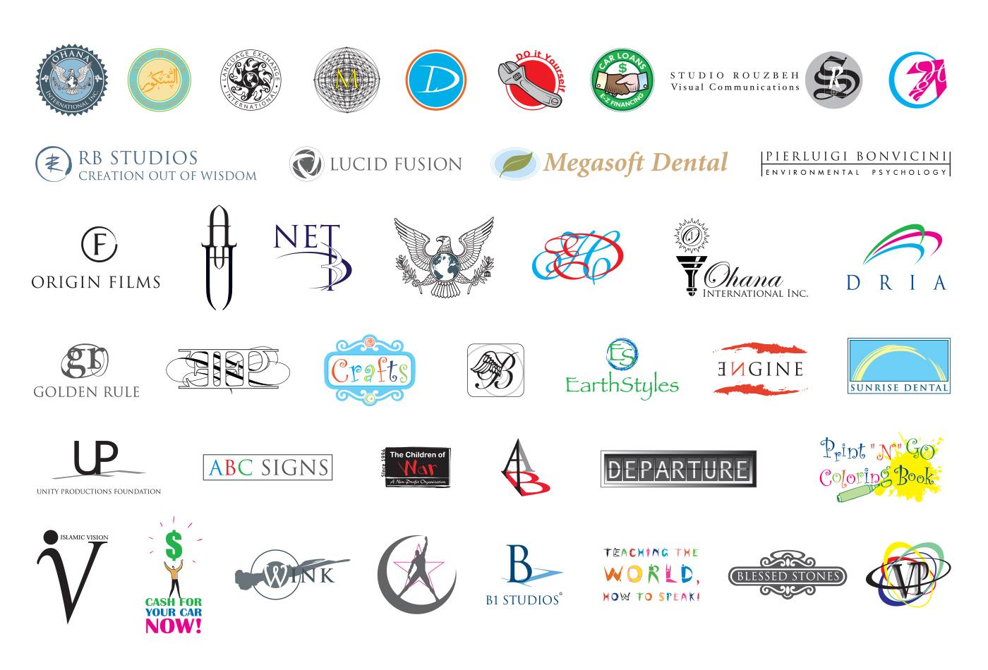 Multiple Logo-Icons